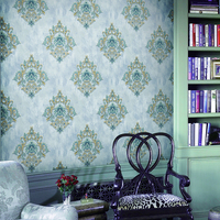 New pvc royal beauty wallpaper for bedroom decoration
