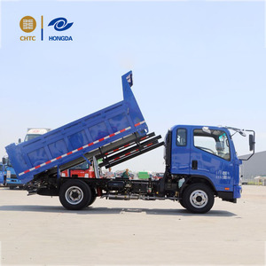 from China Henan good condition and quality attractive price 4x2 class 116HP KAMA dump truck