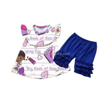 Zurück Zu Schule Outfit Baby Mädchen Sommer Outfits Kindergarten