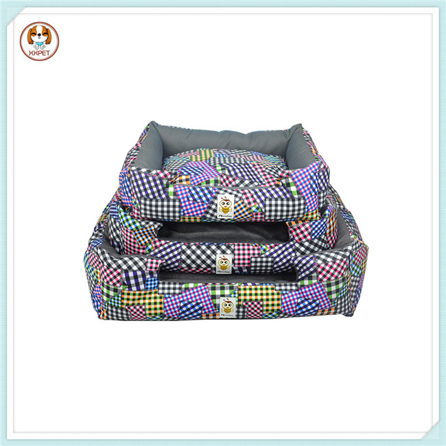 Cute Patch Dog Bed Cover Colorized Dog Bed Cover