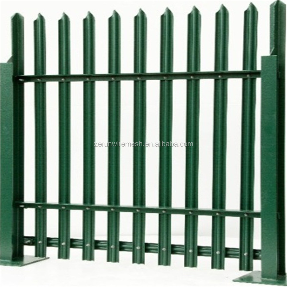 Post Of Optional Base Plate Palisade Fence - Buy Electric Fence ...