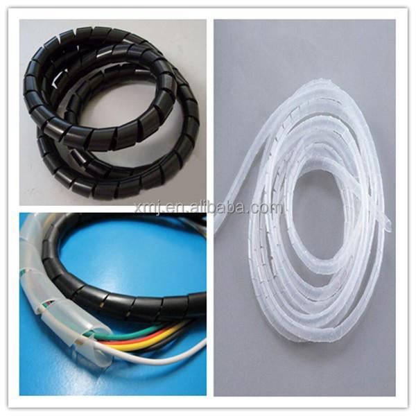Material de pvc con aislamiento espiral envoltura vendas - Cable electrico exterior ...