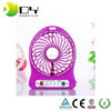 Best Gift Rechargeable Small Pocket Battery Operated Mini usb Fan With Led Light