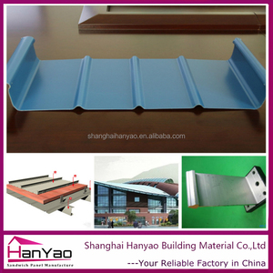 Galvanized Steel Sheet Material Standing Seam Roof