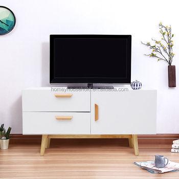 Wood Furniture Lcd Tv Cabinet Design Living Room Corner Tv Showcase