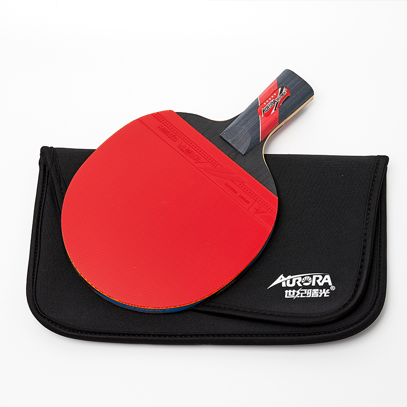 Hot sales tafeltennis racket 5 ster goede hout pingpong paddle