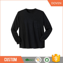2018 new top10 china manufacture long sleeve CVC tshirt for men