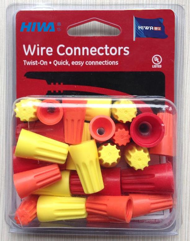 Twist-on wire connectors-Heavypower-P4 Yellow