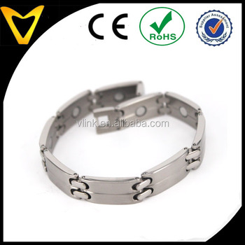 Elegant Anium Magnetic Therapy Bracelet Pain Relief For Arthritis Carpal Tunnel Tendonitis Tennis Elbow Rsi Joint