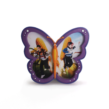 Butterfly shape customized photo frame present for kids cheap price