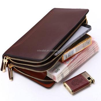 ba8e1cf4394a Императорский кожаный клатч Сумки для мужчин, ручной работы из натуральной  кожи Ясно клатч кошелек Организатор