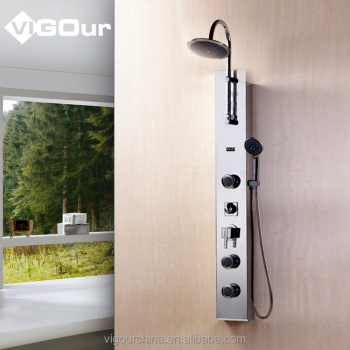 Durable Shower Panel Tower System For Bathroom #BS 6813