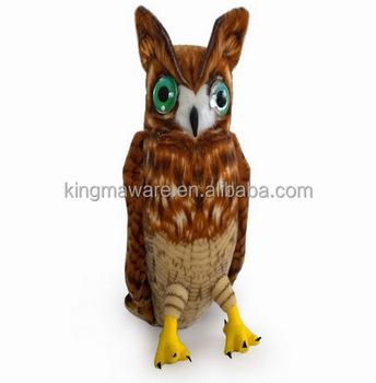 Realistic Plush Owl Toy Lifelike Stuffed Owl Plush Toy Plush Owl