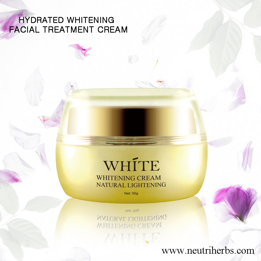 Private label herbal whitening cream 100% natural for men and women skin whitening night cream for face