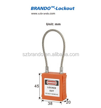 47f8a3a66ea Steel Cable Shackle Wholesale Padlocks Equipment Isolation - Buy ...