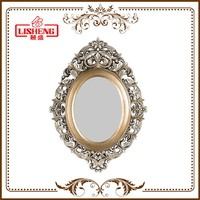Wholesale ornate fancy decorative antique make up framed mirror wall
