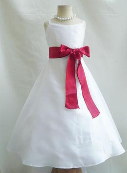 Vestidos de graduacion para ninas color blanco
