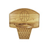 New Year Sale Montessori Educational Wooden Basketball Hoop For Preschool Child