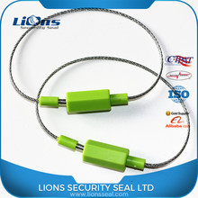 Ring design plastic cover fix length self lock cable seal LS-308
