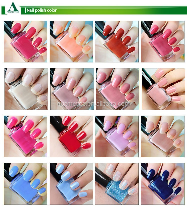 Private label organic uv nail polish fashionable non toxic gel nail polish