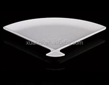 white fan shape melamine plates safe dinnerware & White Fan Shape Melamine Plates Safe Dinnerware - Buy Melamine ...