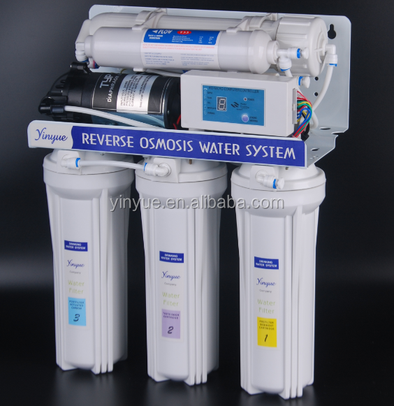 Hot 50GPD with digital reverse osmosis water system/ ro water filter manufacturers
