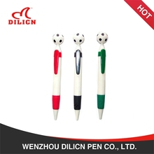 Football shape novelty plastic advertising promotional toy pen