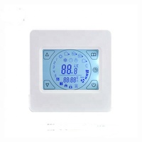230v 150W/M2 electric radiant Teflon cable Floor Heating Mat kits Weekly Programmable Thermostat