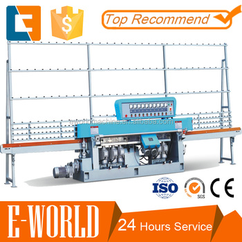 Shower mirror Glass straight edging machine