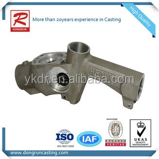 Supply high quality fuel nozzle part finish by aluminum gravity casting