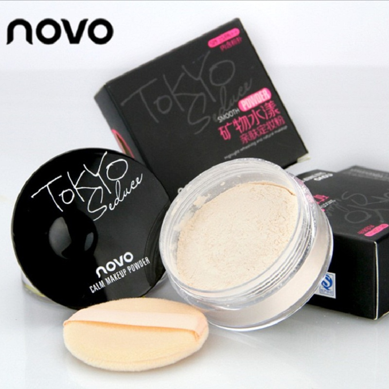 Luxury Face Pressed Powder highlight Banana Loose Foundation Beauty Makeup highlighter Powder