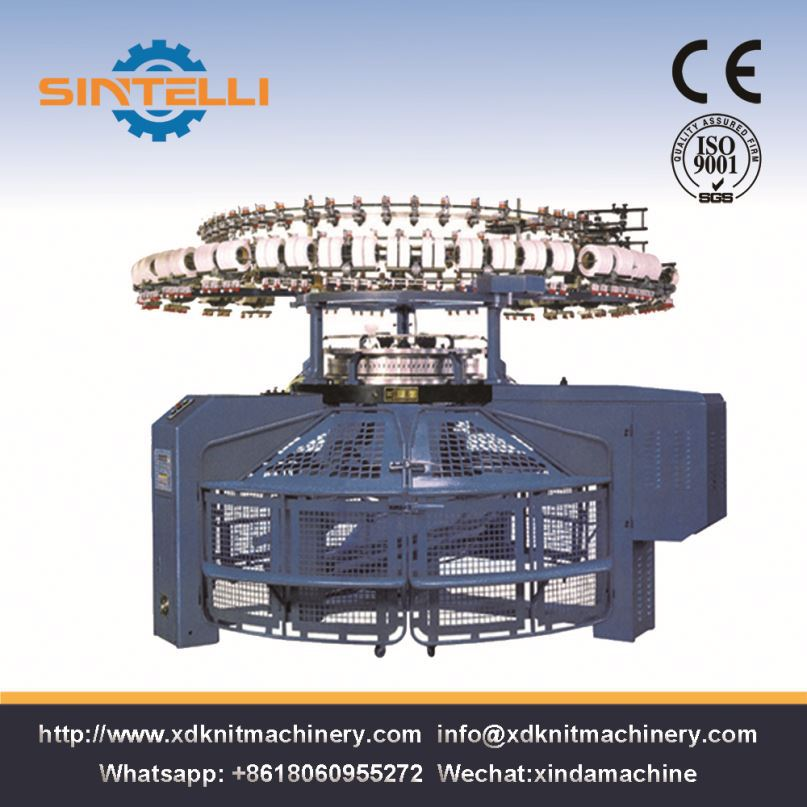 Mini Size Double Circular Loom Knitting Machine