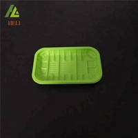 Supermarket use disposable plastic fruit packaging tray with seal film