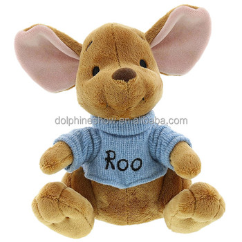 European Standard Cute Stuffed Animal Baby Kangaroo Plush Toy With