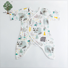 Muslin tree summer kids infant newborn baby boy girl cotton clothes romper