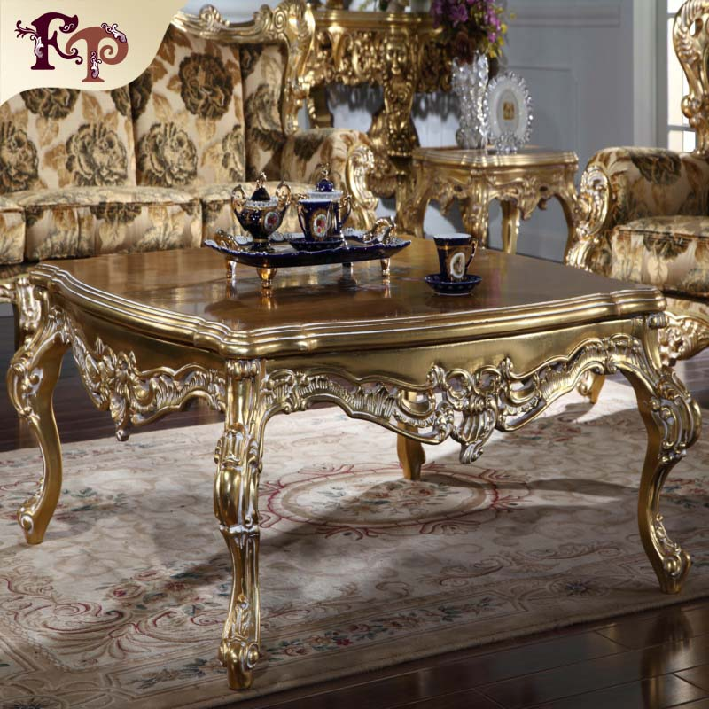 Superbe Modern Designs European Style Luxury Royal Solid Wooden Coffee Tables   Buy  Homemade Coffee Table,Baroque Style Coffee Table,Solid Wood Slab Coffee  Tables ...