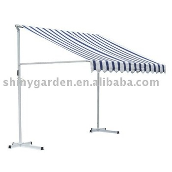 Manual Retractable Awning Patio