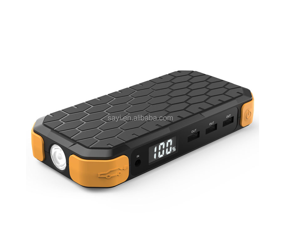 Hot selling portable car emergency power supply jump starter