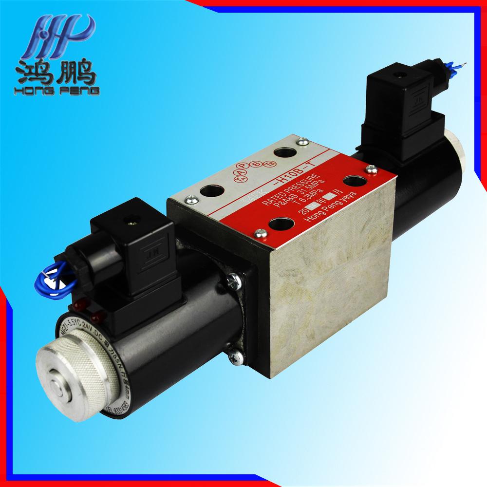 Hydraulic Actuators Solenoid Valve 34ek-h10b-t,Shanghai Type Control ...