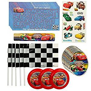 Disney Cars Grand Prix Favor Set