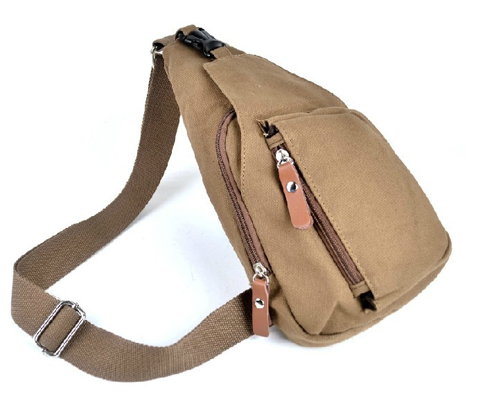 Hot Sale Men Single Strap Backpack Travel Shoulder Bag Khaki Canvas Sling  Bags Women - Buy Women Bags 44d1ffcf6fd3
