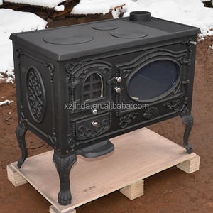 Cast Iron Wood Burning Stove With Oven Cast Iron Wood