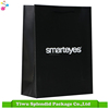 Solid Black Printing Simple Design Paper Bag with White Logo