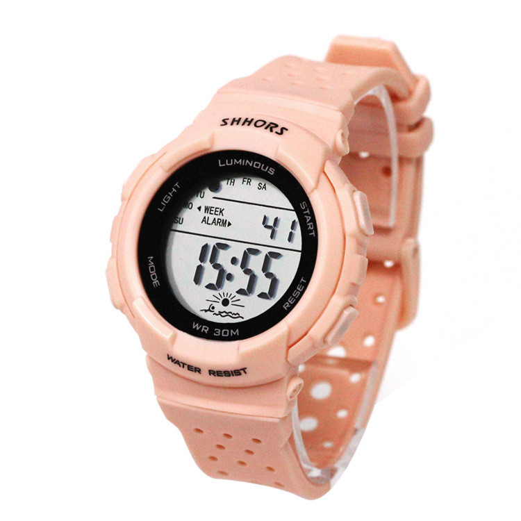 watch  material digital display sport bracelet promotional watch led factory wholesale cheap promotional gift child watch