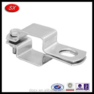 OEM Precision square pipe mounting bracket,boom clamp