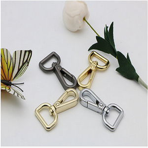 Wholesale custom factory hot sell high quality zink alloy swivel snap hook for dog