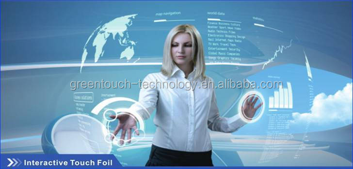 27 inch Front Glass Touch Screen Touch Foil,27 inch foil touch screen