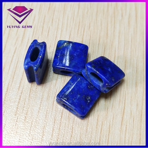 8mm Natural square lapis lazuli Phoenix Stone beads most popular gems for jewel design market jaipur