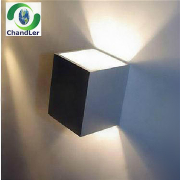 Int rieure 3 w cube led mur lampe clairage mural for Eclairage led mural interieur