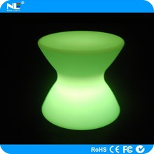 Elegant and nice X shape party LED super bright lighting tables and chairs